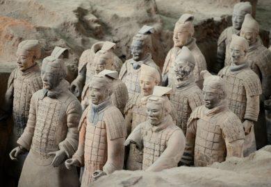 O Exército de Terracota de Xian
