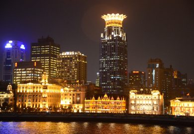 Xangai, onde a China se encontra com a Europa