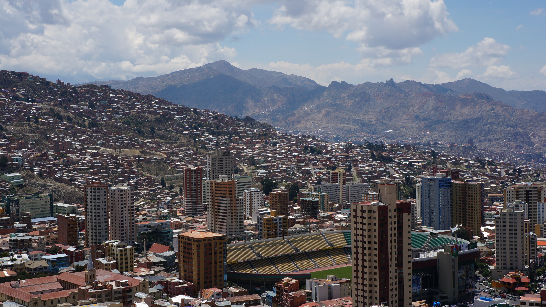 Chegando a La Paz, por Maíra Nery
