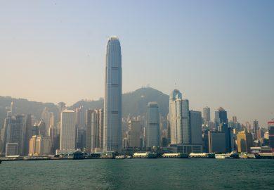 A despedida de Hong Kong
