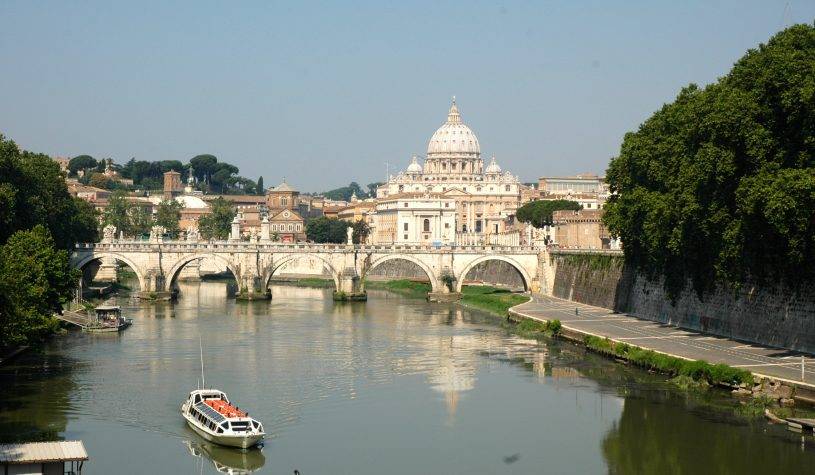 Chegando a Roma pelo Vaticano