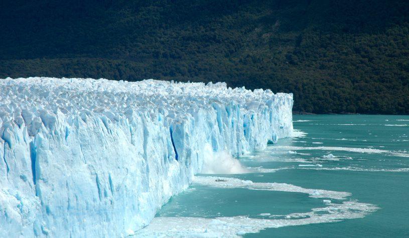 O espetacular Glaciar Perito Moreno