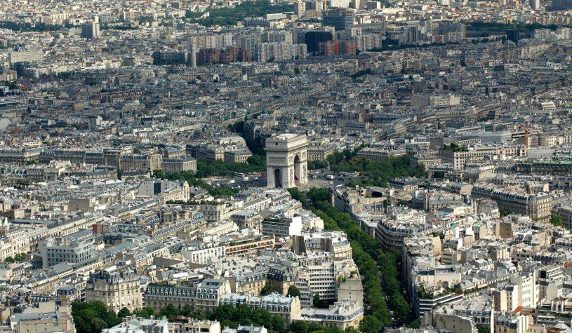 Paris vista de cima