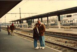 A primeira viagem à Europa – 1991/1992