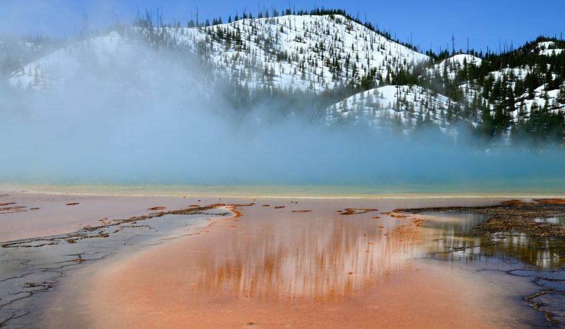 A expectativa sobre o Parque Nacional Yellowstone