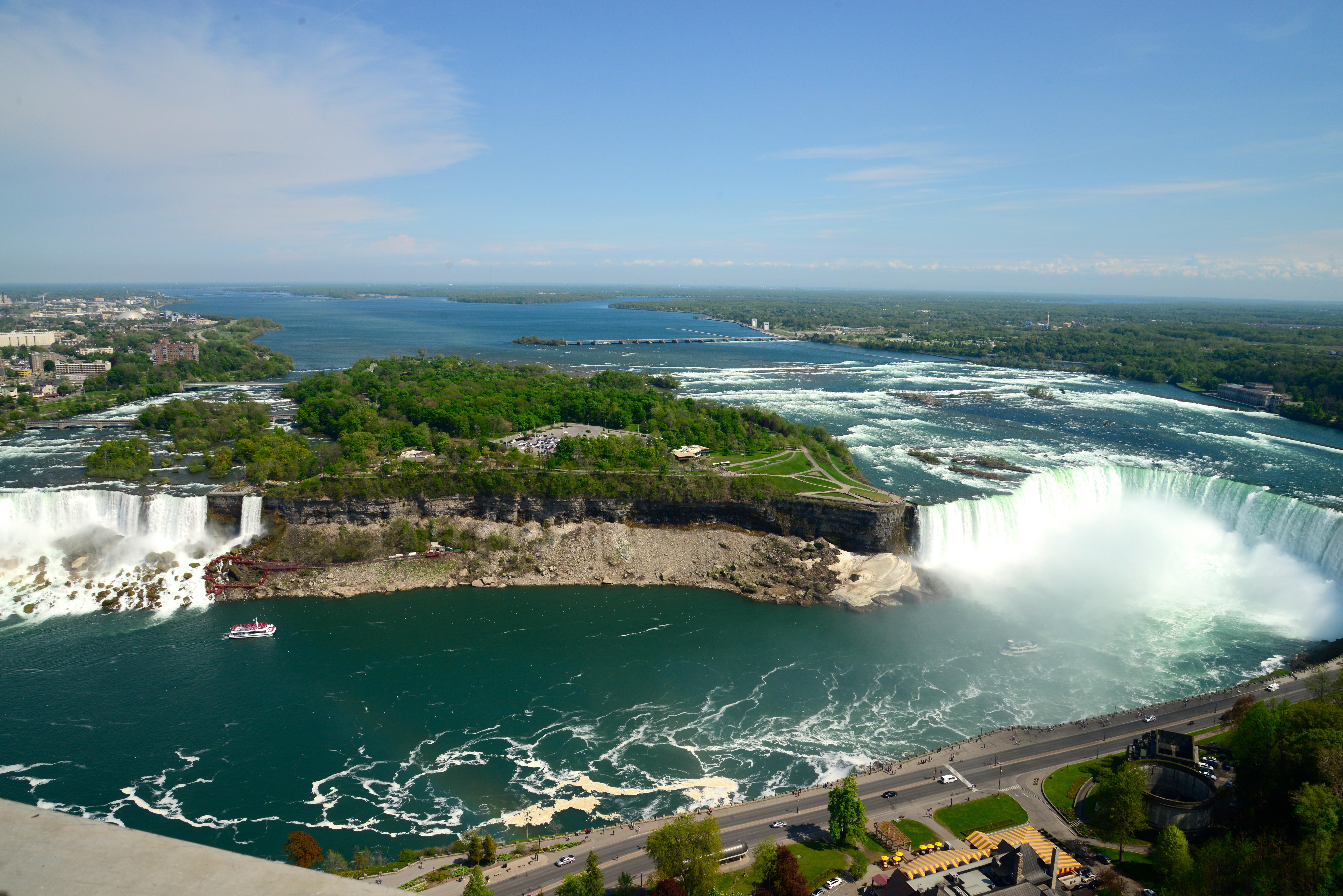 Espetáculos da natureza nos Estados Unidos e Canadá
