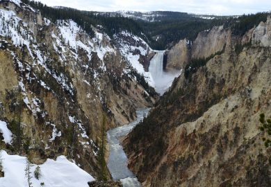 O Grand Canyon do Rio Yellowstone