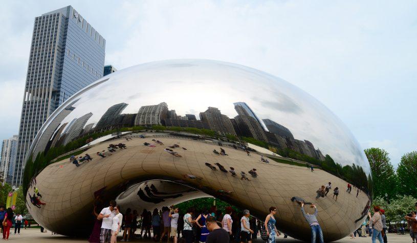 O Millenium Park em Chicago