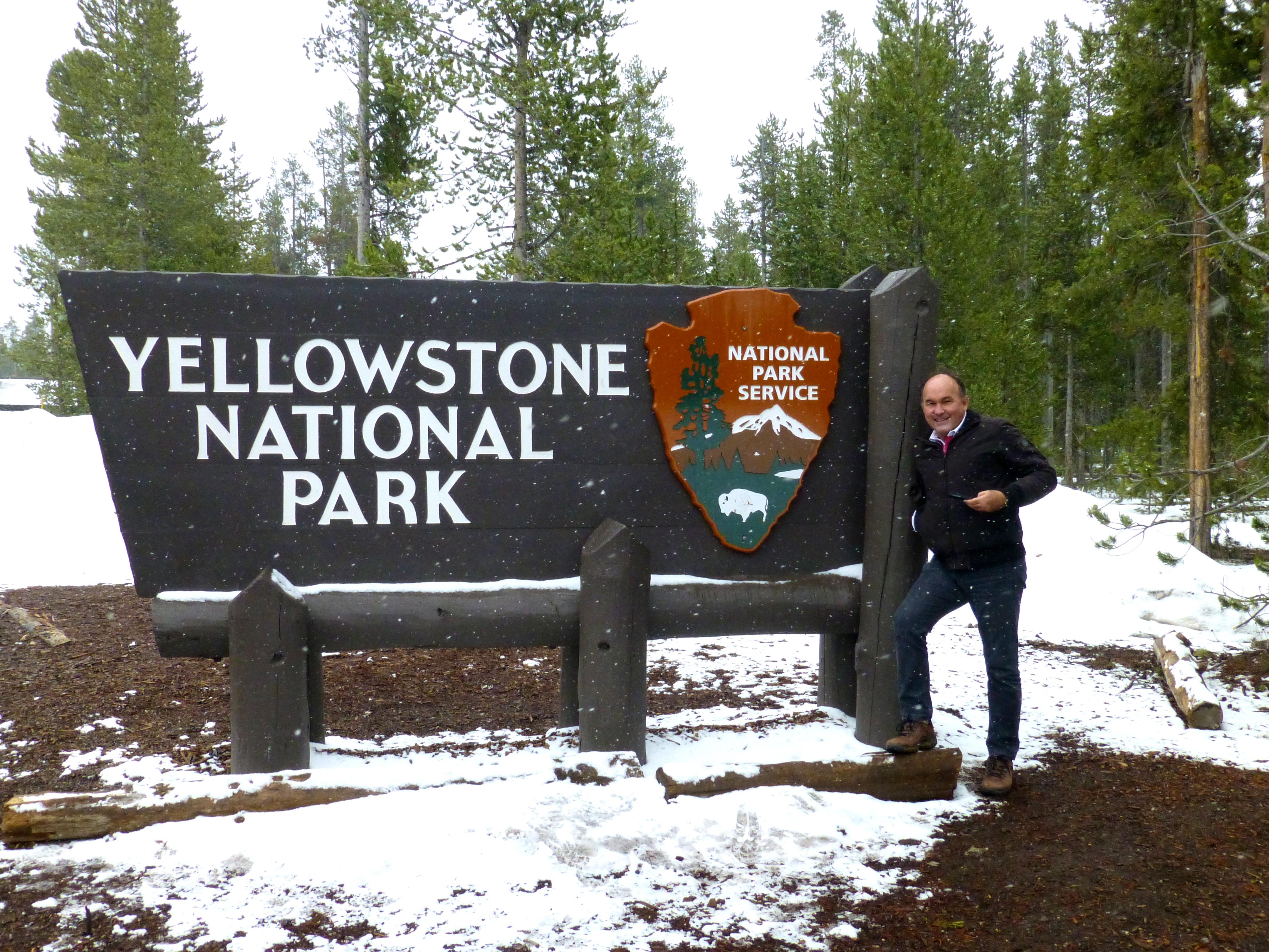 O primeiro contato com o Parque Nacional Yellowstone