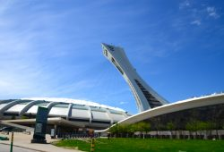 O Parque Olímpico de Montreal