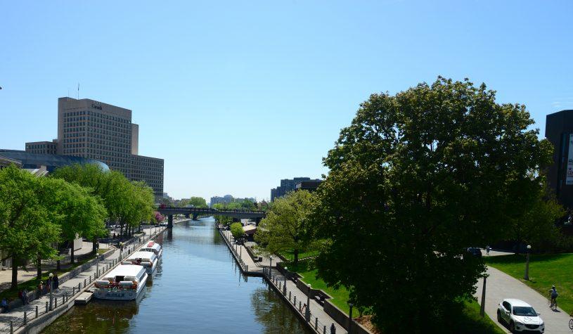 Canal Rideau, a joia de Ottawa