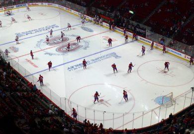 Go Habs Go, assistimos à semifinal de hóquei sobre patins em Montreal