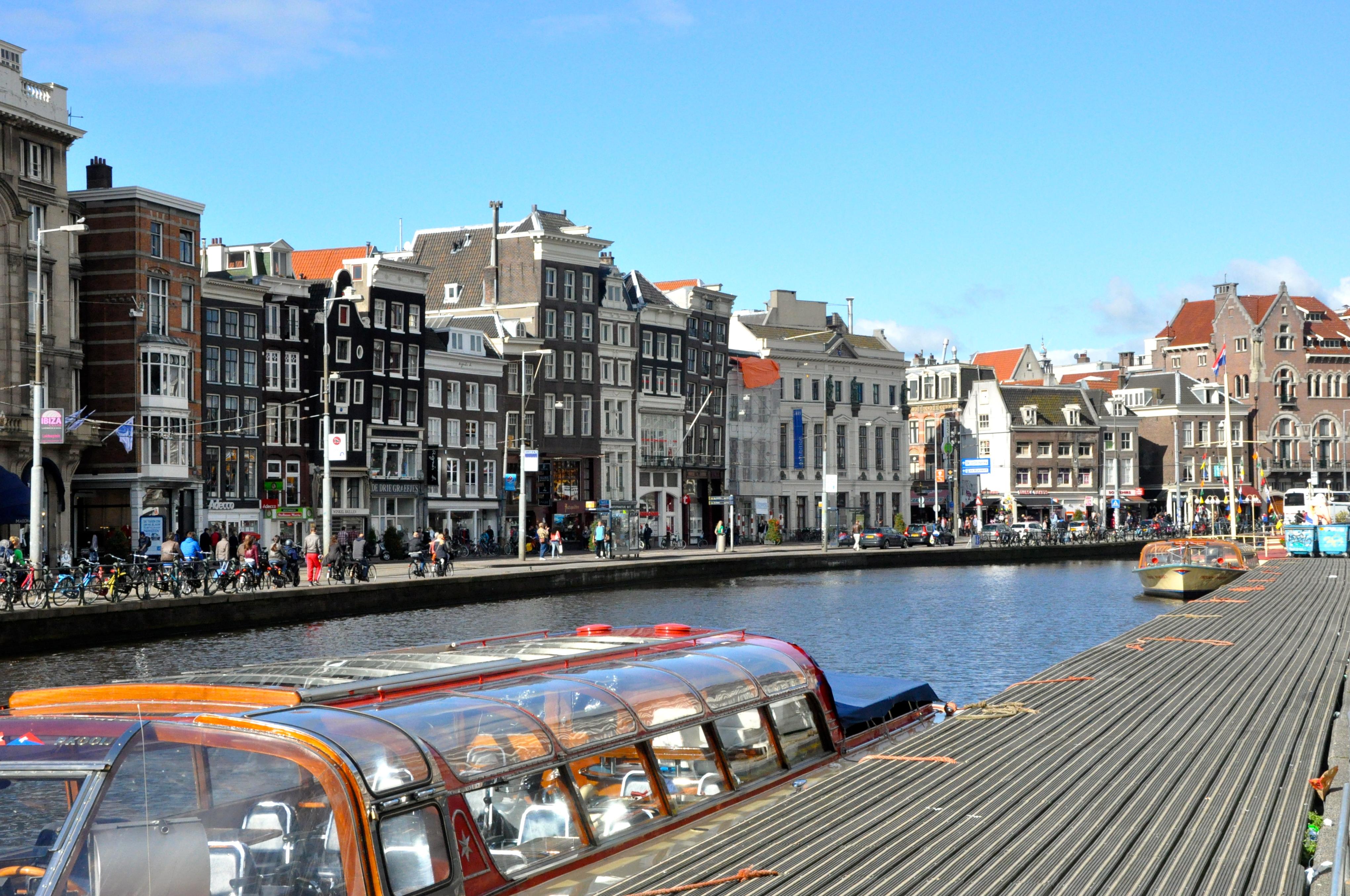 Fomos passar o Réveillon em Amsterdam