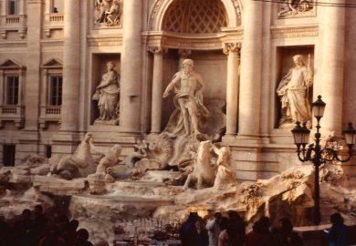 A Fontana de Trevi e outras atrações de Roma