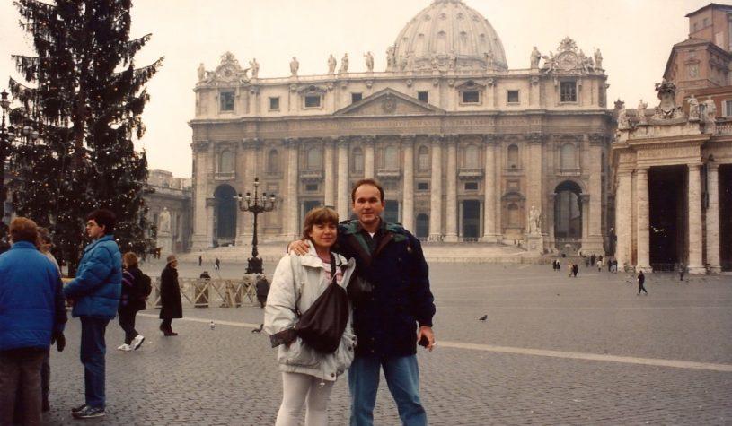 O Vaticano e a Basílica de São Pedro
