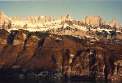 Atravessando os Alpes em direção à Itália