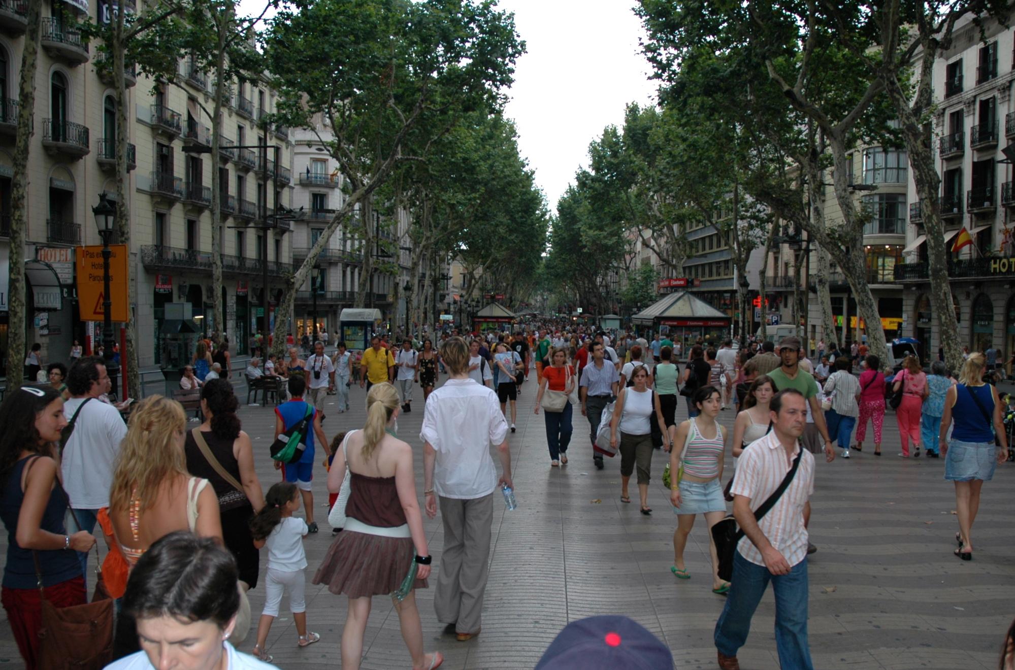 As primeiras impressões sobre Barcelona
