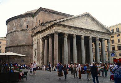 Panteão, o templo de todos os Deuses