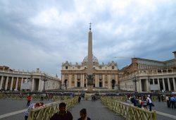 A Basílica de São Pedro, no Vaticano