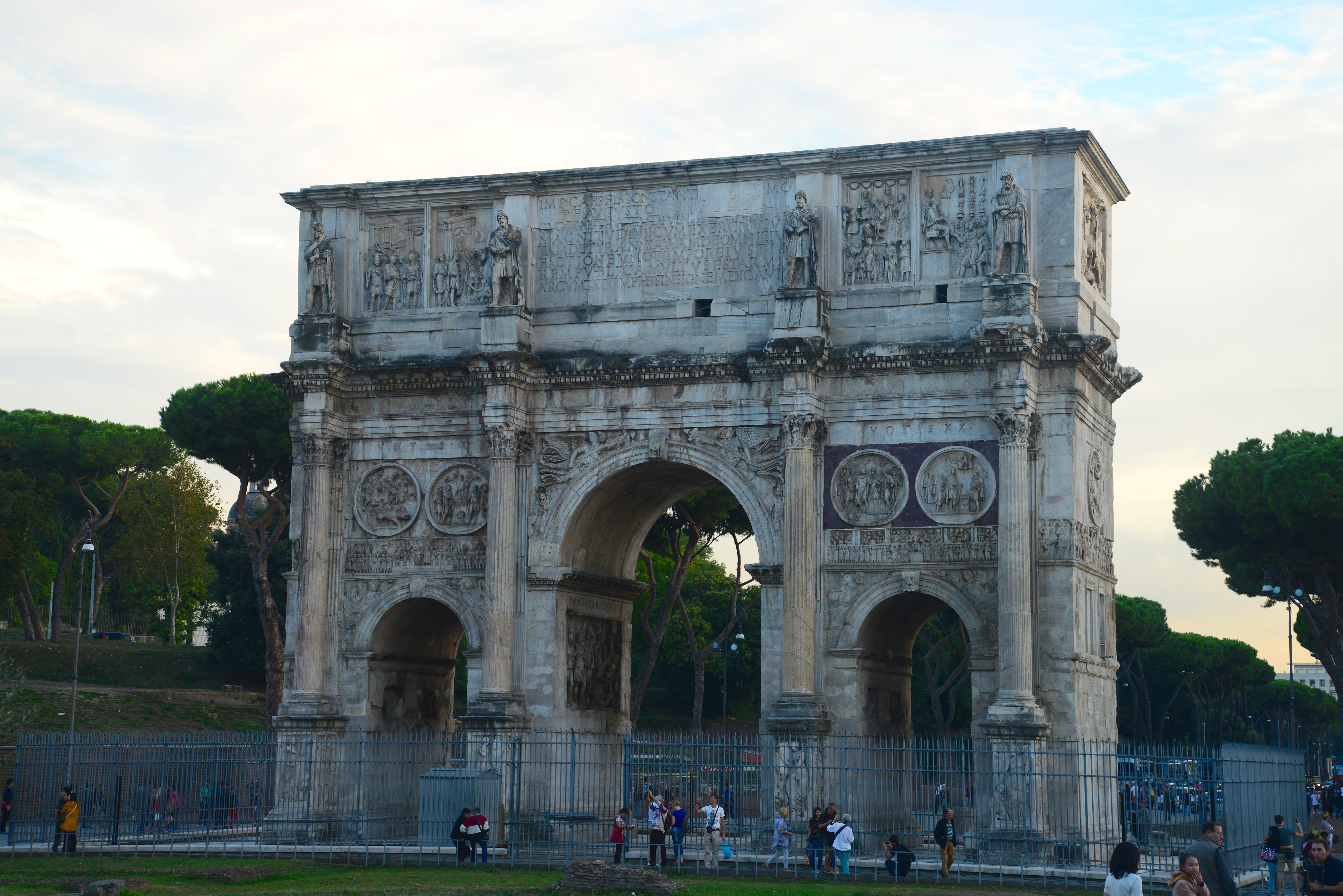 O Arco de Constantino
