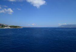 Atravessando o Estreito de Messina