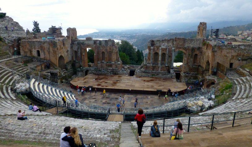 Taormina, a pérola da Sicília