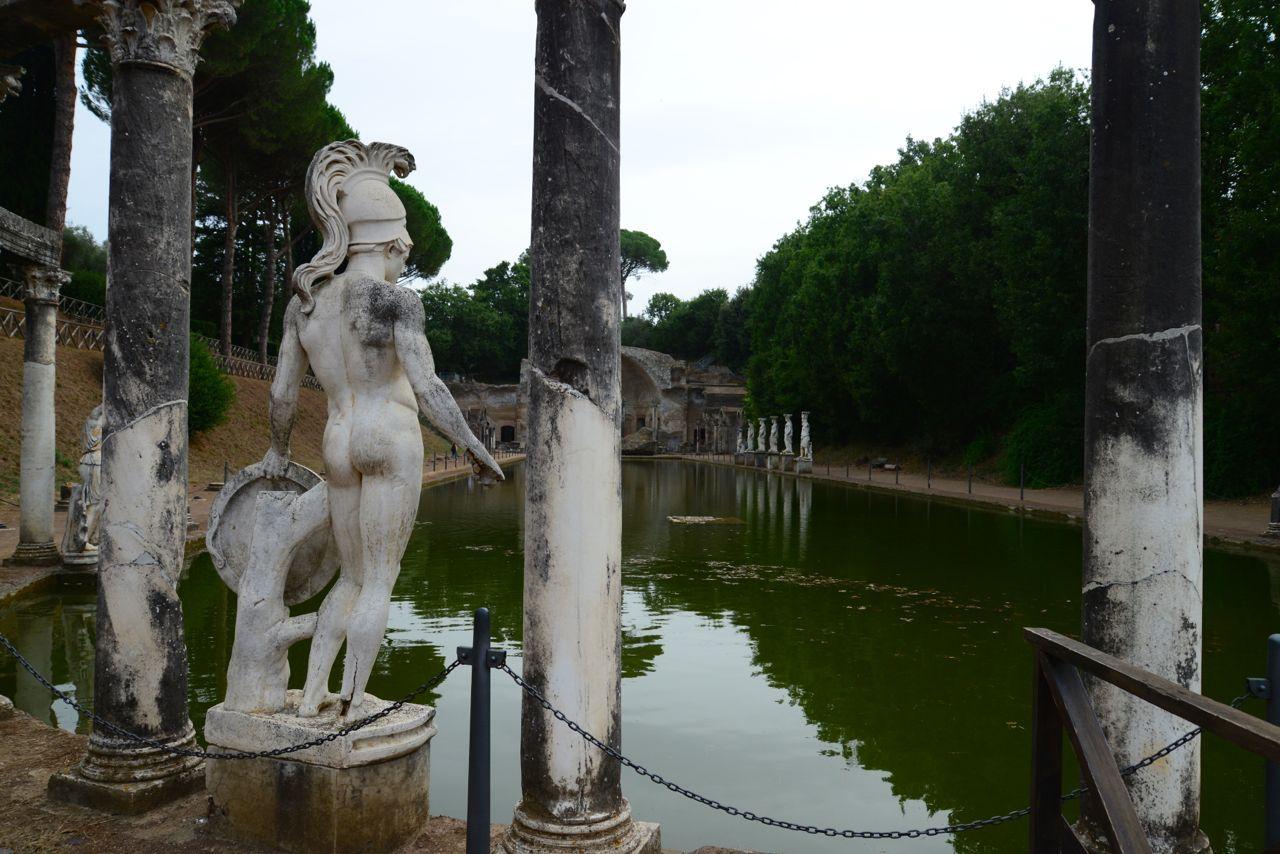 A Villa Adriana em Tivoli, um monumento ao amor