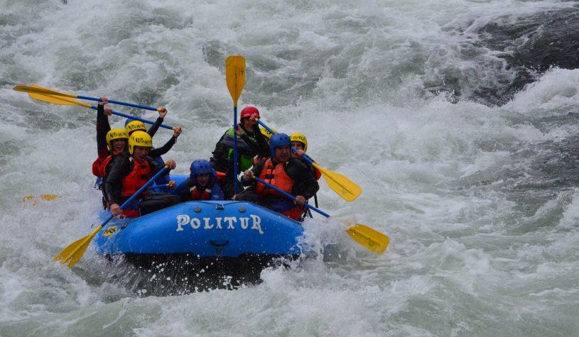 Rafting em Pucón – por Maíra Nery