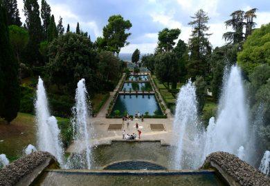 A Villa D'Este e seu jardim encantado