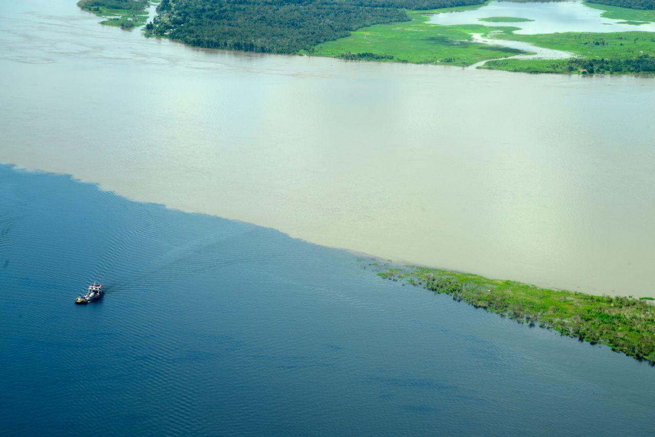O gigante Rio Amazonas