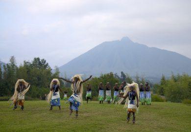 O Parque Nacional dos Vulcões de Ruanda