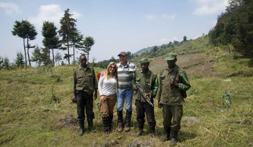 Preparando o encontro com os Gorilas das Montanhas
