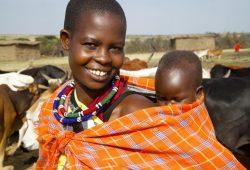 A Reserva Masai Mara no Quênia