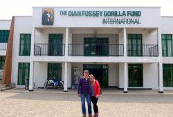 A vida de Dian Fossey em Ruanda