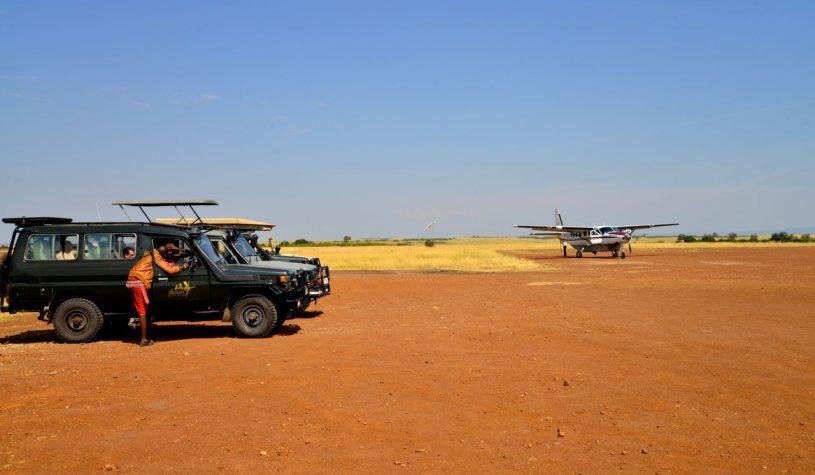 Chegando à Tanzânia