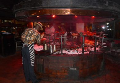 O Restaurante Carnivore de Nairobi