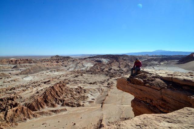 O Vale da Lua e o Vale da Morte no Deserto do Atacama