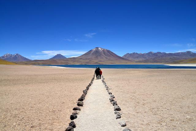 As Lagunas Altiplânicas no Deserto do Atacama