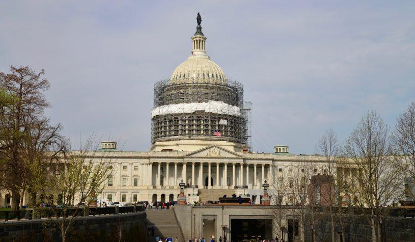 Capitólio, o símbolo maior da democracia americana
