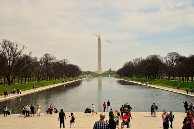 Chegando a Washington e entendendo a cidade