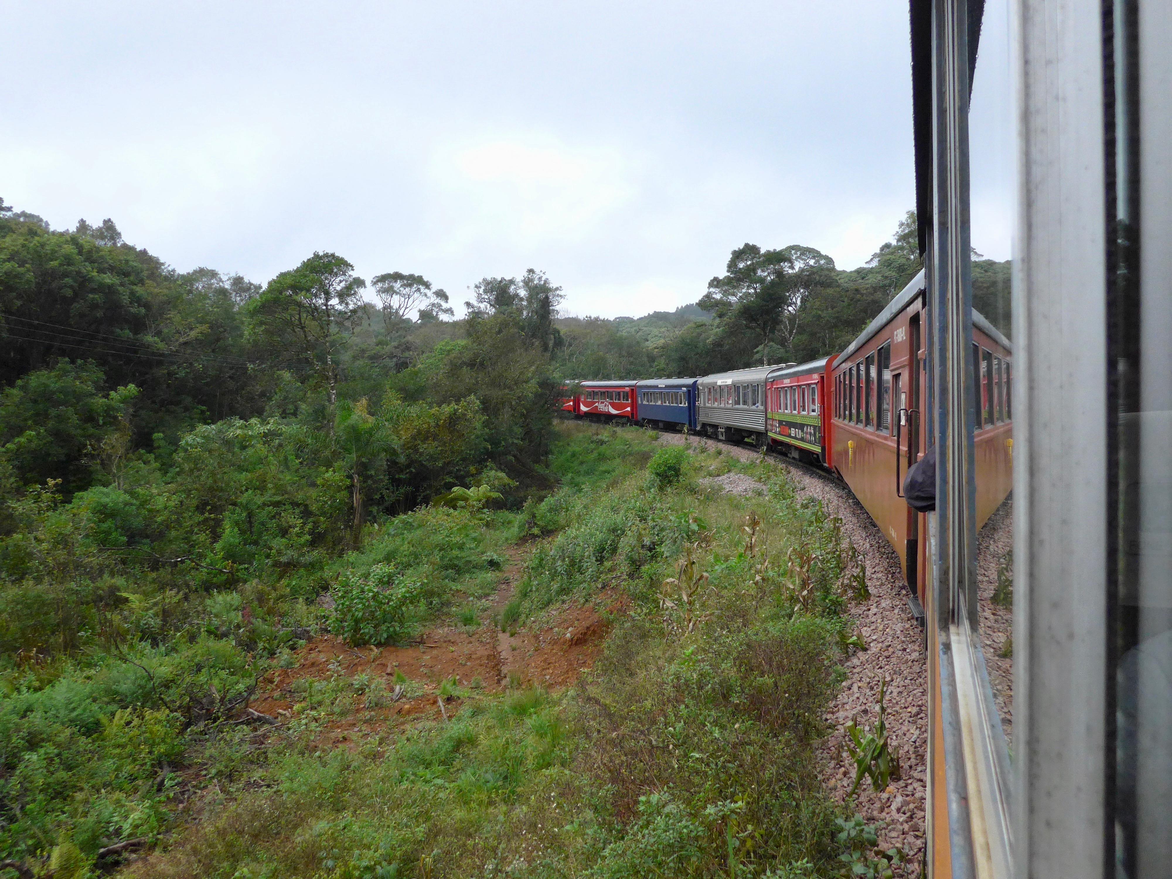 A Estrada de Ferro Curitiba-Paranaguá