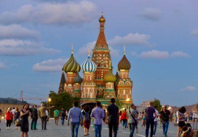 A Praça Vermelha de Moscou