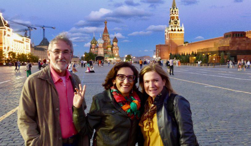 Encantados com Moscou