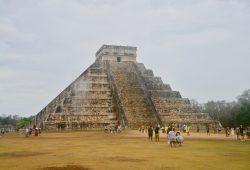A Pirâmide Maia de Chichen Itzá