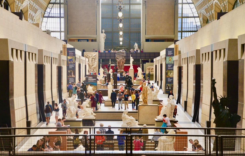 ALGUMAS ESCULTURAS DO MUSEU D'ORSAY EM PARIS