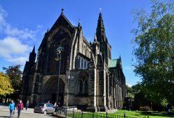 A Catedral de Glasgow e o Riverside Museum