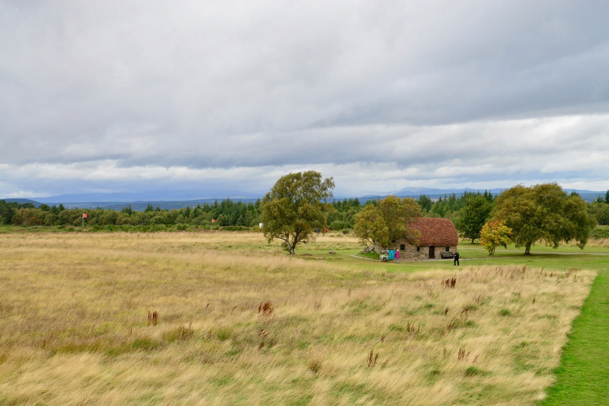 A Batalha de Culloden na Escócia
