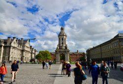 DUBLIN, A GRANDE FOME E O TRINITY COLLEGE