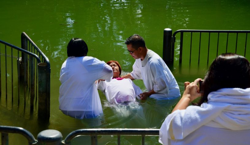 YARDENIT, ONDE JOÃO BATISTA BATIZOU JESUS CRISTO