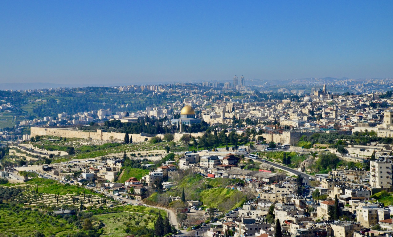 JERUSALÉM, A CIDADE DE DEUS